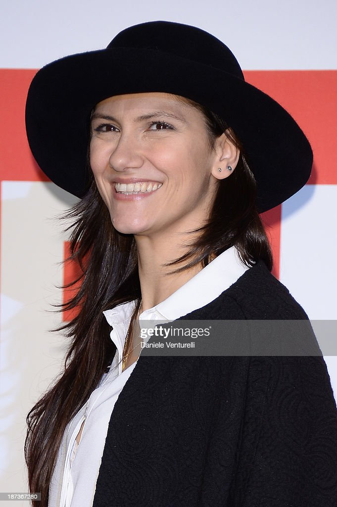 Elisa Toffoli attends the 'L'Ultima Ruota Del Carro' Photocall during the 8th Rome Film Festival at the Auditorium Parco Della Musica on November 8, 2013 in Rome, Italy.