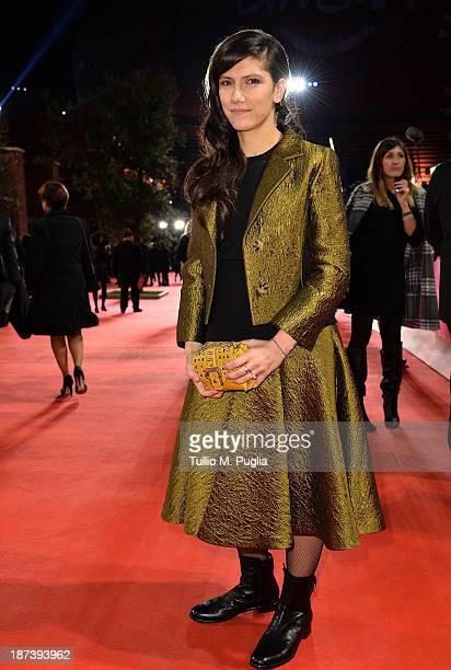 Elisa Toffoli attends the Opening Ceremony and 'L'Ultima Ruota Del Carro' Premiere during The 8th Rome Film Festival at Auditorium Parco Della Musica...