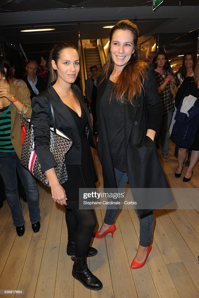 Elisa Tovati and Zoe Felix attend Tweety by Cathy Guetta Party in Paris.