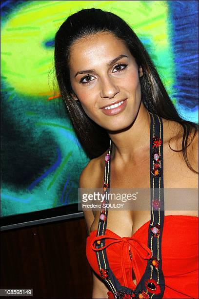 Elisa Tovati at Park Hyatt Paris Vendome in Paris France on April 4 2007