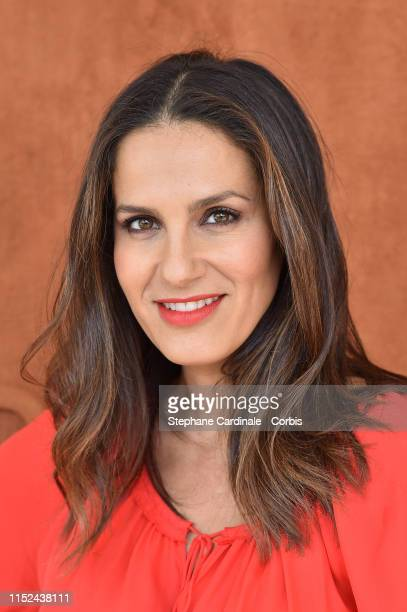 Elisa Tovati attends the 2019 French Tennis Open Day Four at Roland Garros on May 29 2019 in Paris France