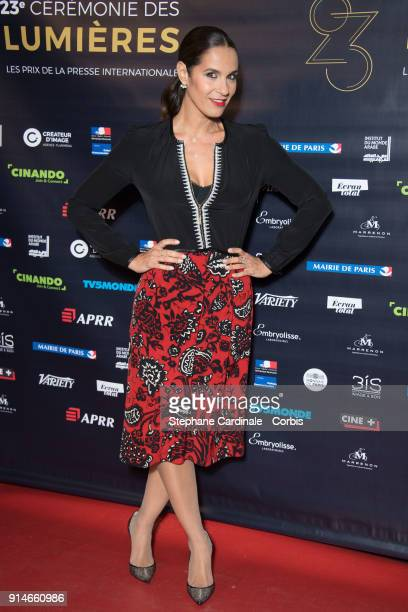 Elisa Tovati attends the 23rd Lumieres Award Ceremony at Institut du Monde Arabe on February 5 2018 in Paris France