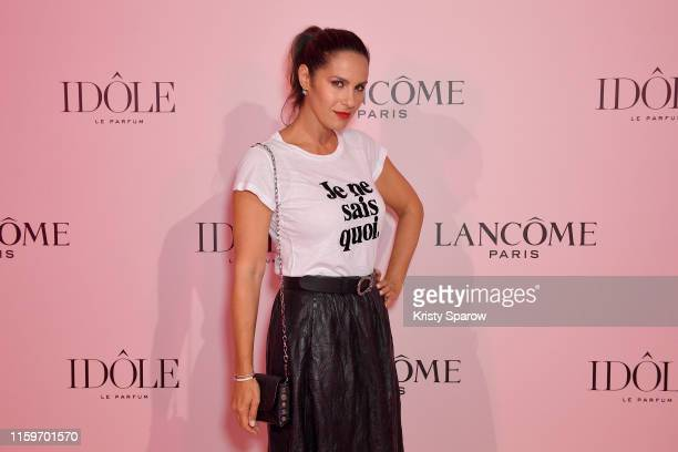 Elisa Tovati attends the Lancôme Announces Zendaya as face of new Idôle Fragrance at Palais D'Iena on July 02 2019 in Paris France