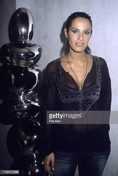Elisa Tovati during TEVA TV 10th Birthday Party September 12 2006 at Hotel Murano in Paris France