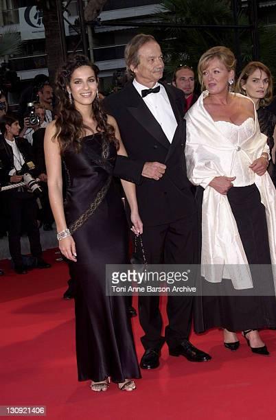 Elisa Tovati guest and Charlotte De Turckheim during Cannes 2002 The Pianist Premiere at Palais des Festivals in Cannes France