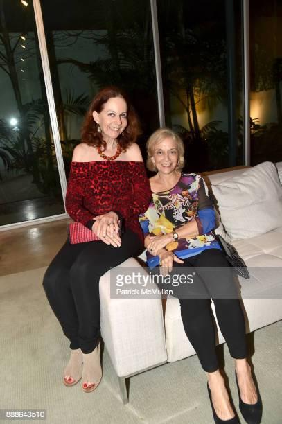 Elisa Turner and Marijean Miyar attend the Marcelo Bonevardi / The Miami Rail Celebration at Miami Design District on December 8 2017 in Miami Florida