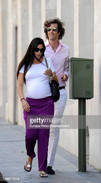 Elisabet Dutu and Francisco Ortiz Von Bismarck are seen on June 22 2012 in Madrid Spain