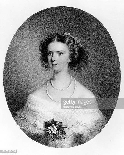 Elisabeth Amalia Eugenie gen 'Sissi'24121837 10091898Kaiserin von Osterreich seit 1854Königin von Ungarn seit 1867geborene Prinzessin in Bayern...