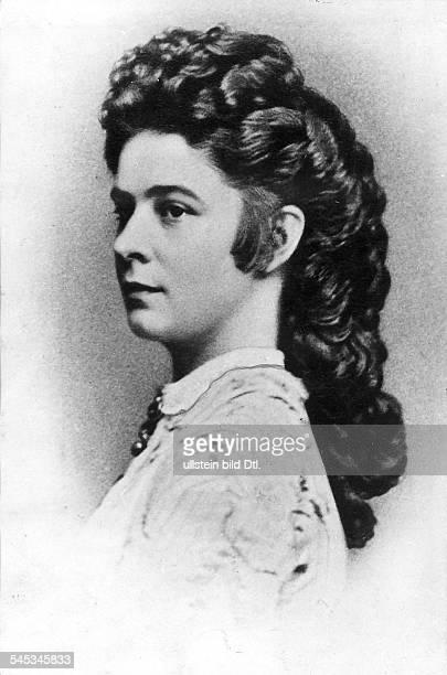 Elisabeth Amalie Eugenie gen 'Sissi'24121837 10091898Kaiserin von Österreich seit 1854Königin von Ungarn seit 1867 Porträt oJ