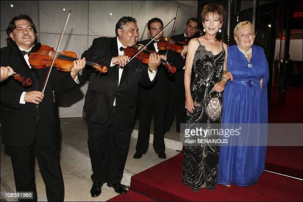 Elisabeth Anne Massy and mother Princess Antoinette in Monaco on August 06 2004