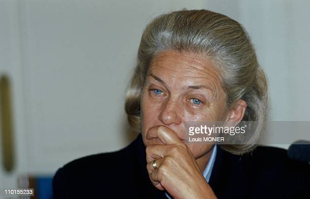 Elisabeth Badinter in France on June 05 2000