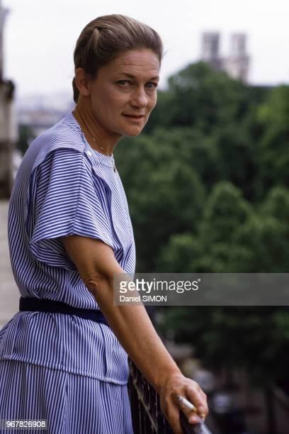 Elisabeth Badinter philosophe le 24 juin 1986 à Paris France