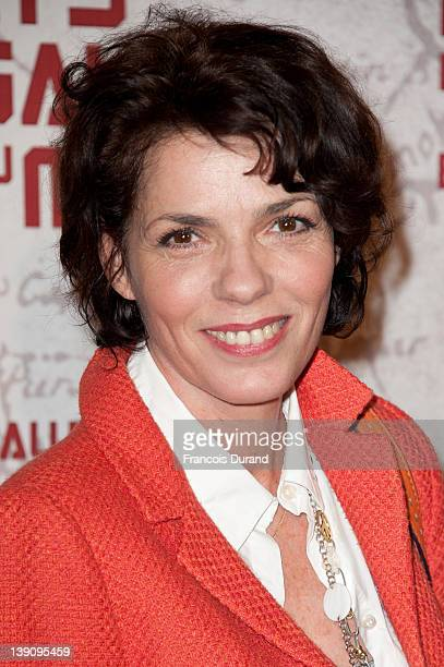 """Elisabeth Bourgine attends """"In the Land Of Blood And Honey"""" Pairs premiere on February 16, 2012 in Paris, France."""