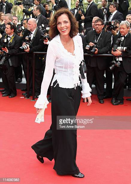 """Elisabeth Bourgine attends the Opening Ceremony and """"Midnight In Paris"""" Premiere at the Palais des Festivals during the 64th Cannes Film Festival on..."""
