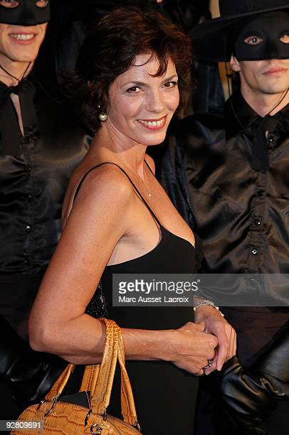 Elisabeth Bourgine attends the premiere of 'Zorro' at the Folies Bergeres on November 5, 2009 in Paris, France.