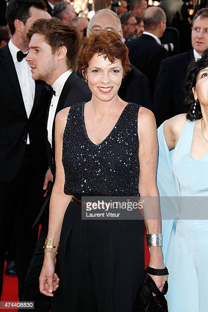 Elisabeth Bourgine attends the The Little Prince premiere during the 68th annual Cannes Film Festival on May 22 2015 in Cannes France