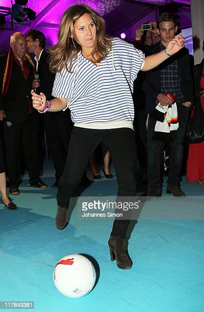 Elisabeth Burda attends the Women's World Cup Night as part of the Digital Life Design women conference at Bavarian National Museum on June 30, 2011...