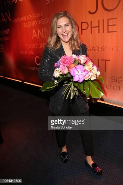 Elisabeth Burda daughter of Dr Hubert Burda and Maria Furtwaengler during the Bambi Awards 2018 final at Stage Theater on November 16 2018 in Berlin...