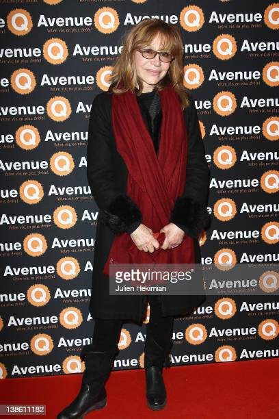 Elisabeth Depardieu attends 'Avenue Q' musical premiere at Bobino on February 9 2012 in Paris France