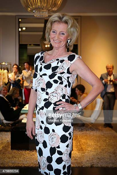 Elisabeth Guertler attends the Escada 'Fete Imperiale' 2015 on June 2 2015 in Vienna Austria