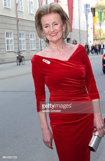 Elisabeth Guertler attends the opening of the easter festival 2014 on April 12 2014 in Salzburg Austria