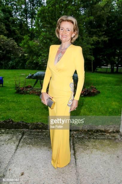Elisabeth Guertler during the International Salzburg Association Gala on July 26 2017 in Salzburg Austria
