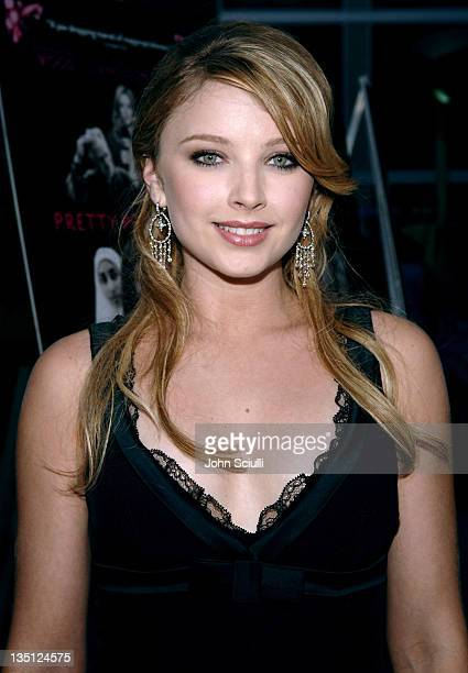 Elisabeth Harnois during 'Pretty Persuasion' Los Angeles Premiere Red Carpet at Arclight Hollywood Cinerama in Los Angeles California United States