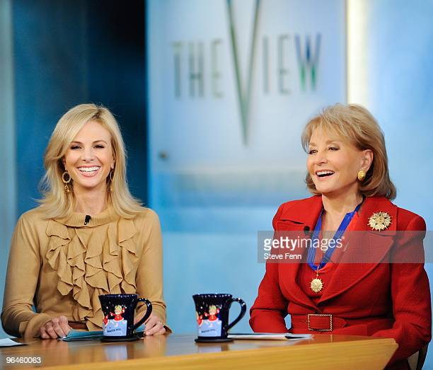 THE VIEW Elisabeth Hasselbeck and Barbara Walters on THE VIEW Friday Feb5 2010 airing on the Walt Disney Television via Getty Images Television...