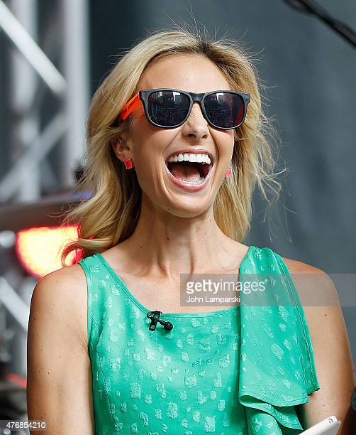 Elisabeth Hasselbeck attends FOX Friends All American Concert Series outside of FOX Studios on June 12 2015 in New York City