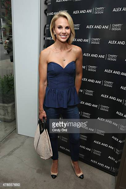 Elisabeth Hasselbeck attends the Alex and Ani CHARMED BY CHARITY event and bangle launch party to celebrate the partnership with Team Red White Blue...