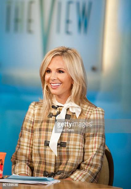 THE VIEW Elisabeth Hasselbeck cohost of Walt Disney Television via Getty Images's The View returned to the show from her maternity leave on MONDAY...