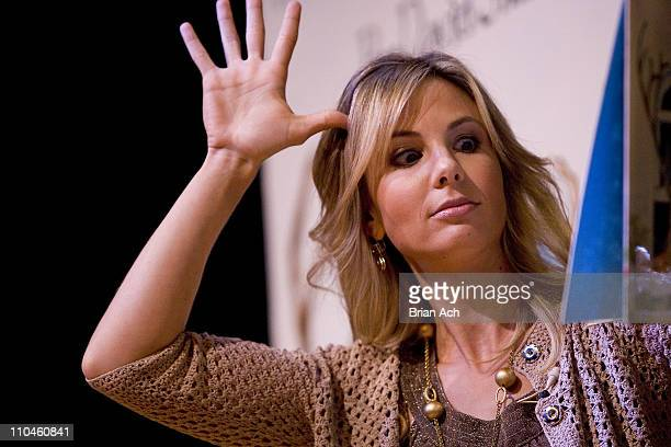 Elisabeth Hasselbeck during Elisabeth Hasselbeck of The View Appears in Support of Theatreworks USA's Free Summer Theatre Program July 25 2006 at...