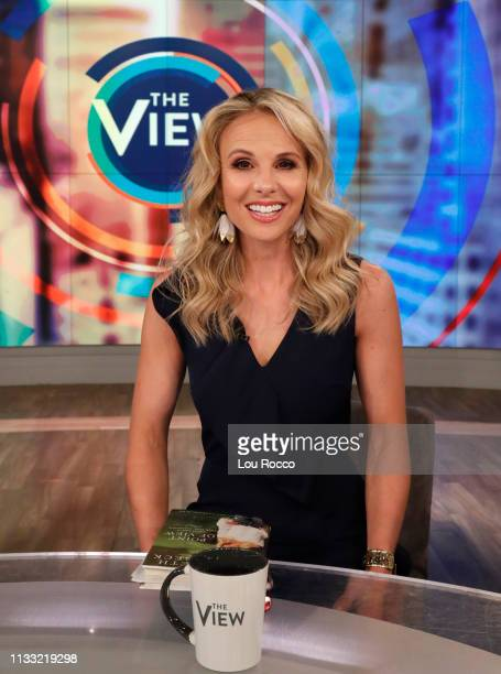 THE VIEW Elisabeth Hasselbeck is the guest today Tuesday March 26 2019 on Walt Disney Television via Getty Images's The View The View airs...