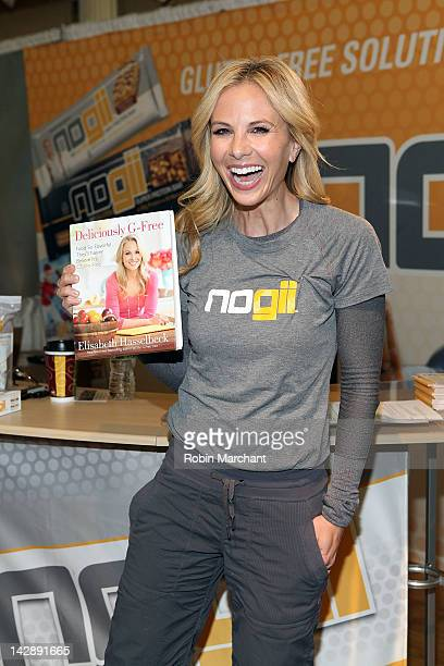 Elisabeth Hasselbeck promotes Deliciously GFree at the Metropolitan Pavilion on April 14 2012 in New York City