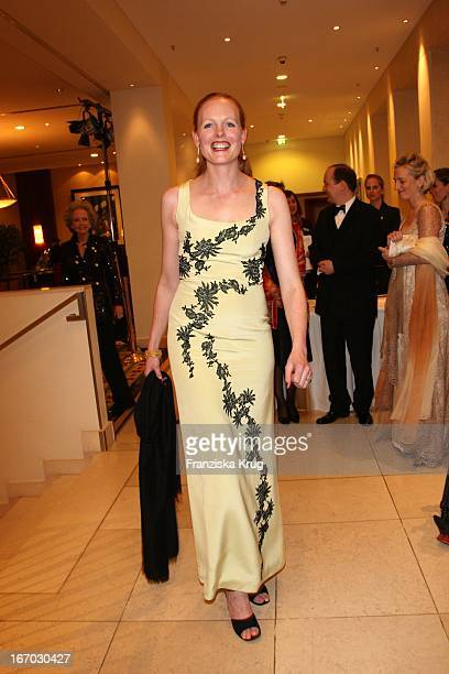 Elisabeth Herzogin In Bayern Bei Der Verleihung Des B'Nai B'Rith Europe Award Of Merit Im Mariott Hotel In Berlin Am 110308