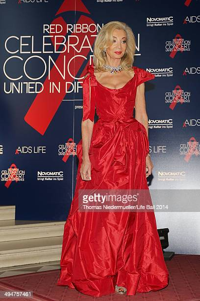 Elisabeth HimmerHirnigel attends the 'Red Ribbon Celebration Concert United in Difference' at Burgtheater on May 30 2014 in Vienna Austria