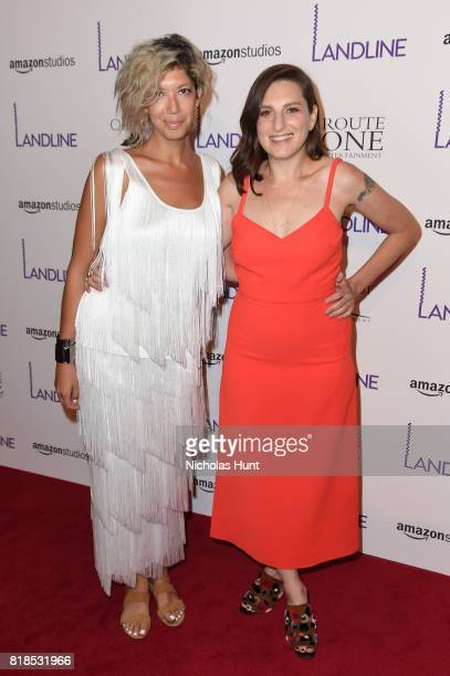Elisabeth Holm and Gillian Robespierre attends the Landline New York Premiere at The Metrograph on July 18 2017 in New York City