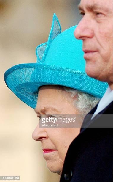 Elisabeth II Königin von England mit Bundespraesident Horst Koehler in Berlin