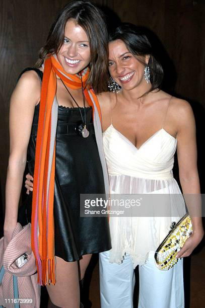 Elisabeth KieselsteinCord and Shoshanna Lonstein during 50 Fabulous Females to Benefit Love Heals for The Alison Gertz Foundation for AIDS Education...