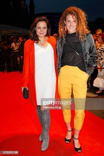 Elisabeth Lanz and Barbara Lanz during the 100th birthday celebration gala for Artur Brauner at Zoo Palast on September 8 2018 in Berlin Germany...