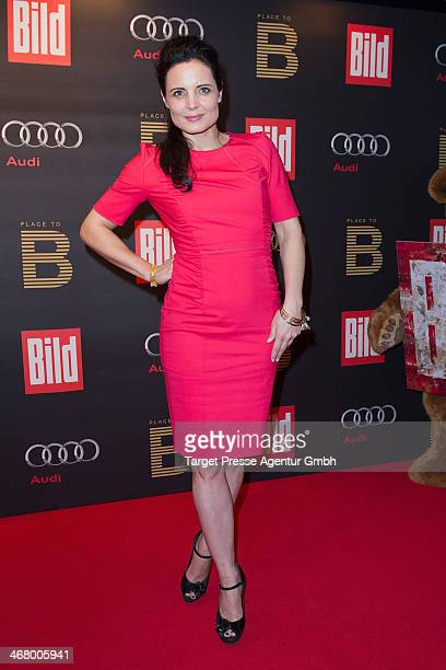 Elisabeth Lanz attends the BILD 'Place to B' Party at Grill Royal on February 8 2014 in Berlin Germany