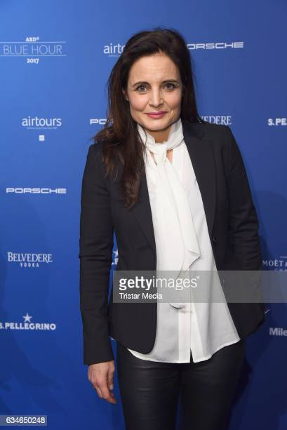 Elisabeth Lanz attends the Blue Hour Reception hosted by ARD during the 67th Berlinale International Film Festival Berlin on February 10, 2017 in...
