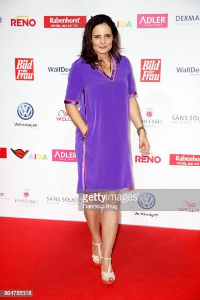 Elisabeth Lanz attends the 'Goldene Bild der Frau' award at Hamburg Cruise Center on October 21 2017 in Hamburg Germany