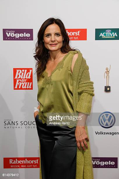 Elisabeth Lanz attends the 'Goldene Bild der Frau' award at Stage Theater on October 13, 2016 in Hamburg, Germany.