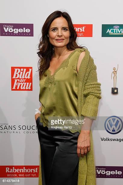 Elisabeth Lanz attends the 'Goldene Bild der Frau' award at Stage Theater on October 13 2016 in Hamburg Germany