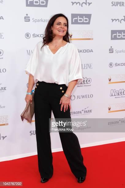Elisabeth Lanz attends the Goldene Henne on September 28, 2018 in Leipzig, Germany.