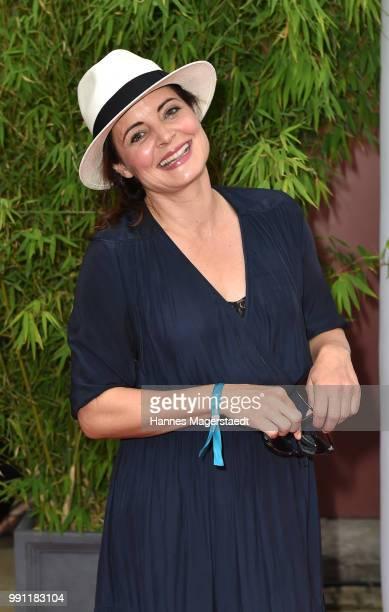 Elisabeth Lanz during the Bavaria Film reception during the Munich Film Festival 2018 at Kuenstlerhaus am Lenbachplatz on July 3, 2017 in Munich,...
