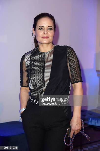 Elisabeth Lanz during the Blue Hour Party hosted by ARD during the 69th Berlinale International Film Festival at Haus der Kommunikation on February 8...