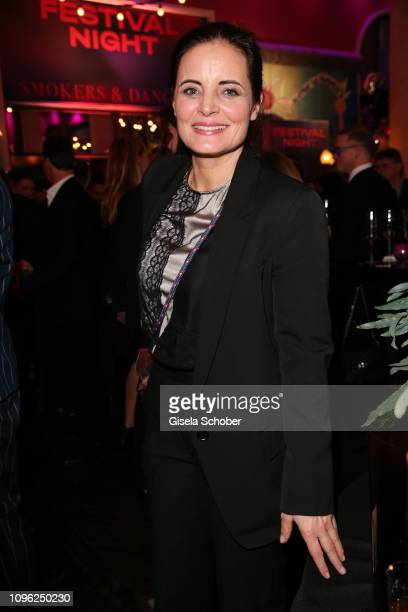 Elisabeth Lanz during the BUNTE & BMW Festival Night at Restaurant Gendarmerie during the 69th Berlinale Filmfestival on February 8, 2019 in Berlin,...