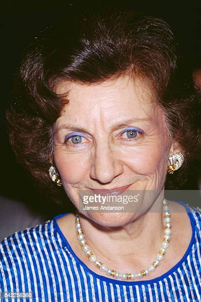 Elisabeth Maxwell wife of British Slovakianborn media mogul publisher and one time politician Robert Maxwell prior to appearing on the French TV show...